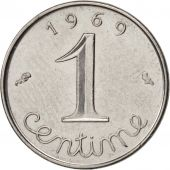 France, Épi, Centime, 1969, Paris, TTB+, Stainless Steel, KM:928, Gadoury:91
