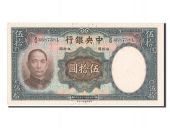 Chine, Central Bank of China, 50 Yuan type 1936