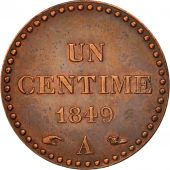 France, Dupré, Centime, 1849, Paris, SUP, Bronze, KM:754, Gadoury:84