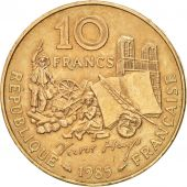 France, Victor Hugo, 10 Francs, 1985, Paris, SUP, Nickel-Bronze, KM:956