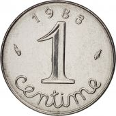 France, Épi, Centime, 1983, Paris, SUP, Stainless Steel, KM:928, Gadoury:91