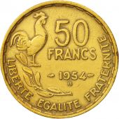 France, Guiraud, 50 Francs, 1954, Beaumont - Le Roger, EF(40-45)