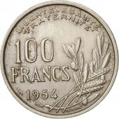 France, Cochet, 100 Francs, 1954, TTB, Copper-nickel, KM:919.1, Gadoury:897