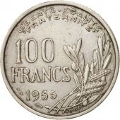 France, Cochet, 100 Francs, 1955, TTB, Copper-nickel, KM:919.1, Gadoury:897