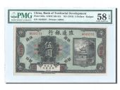 Chine, Territorial Development, 5 Dollars 1916, PMG Ch AU 58, Pick 583a