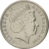 Australia, Elizabeth II, 5 Cents, 2006, AU(55-58), Copper-nickel, KM:401