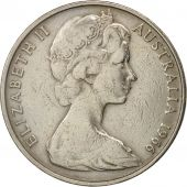 Australia, Elizabeth II, 20 Cents, 1966, EF(40-45), Copper-nickel, KM:66