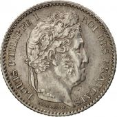 France, Louis-Philippe, 25 Centimes, 1846, Paris, MS(60-62), Silver, KM:755.1