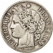 France, Cérès, 2 Francs, 1888, Paris, VF(20-25), Silver, KM:817.1