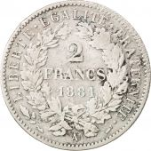 France, Cérès, 2 Francs, 1881, Paris, VF(30-35), Silver, KM:817.1