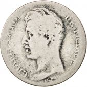 France, Charles X, Franc, 1826, Lille, F(12-15), Silver, KM:724.13, Gadoury:450