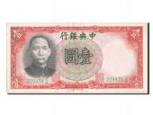 Chine, Central Bank of China, 1 Yuan type 1936