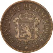 Luxembourg, William III, 5 Centimes, 1870, Utrecht, TB+, Bronze, KM:22.1