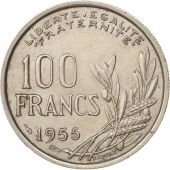 France, Cochet, 100 Francs, 1955, SUP, Copper-nickel, KM:919.1, Gadoury:450