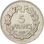 France, Lavrillier, 5 Francs, 1933, Paris, TTB+, Nickel, KM:888, Le Franc:336