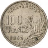 France, Cochet, 100 Francs, 1954, Beaumont - Le Roger, TB+, Copper-nickel