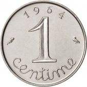 France, Épi, Centime, 1964, Paris, SUP, Stainless Steel, KM:928