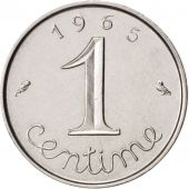 France, Épi, Centime, 1965, Paris, SUP, Stainless Steel, KM:928, Gadoury:91