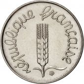 France, Épi, Centime, 1976, Paris, AU(55-58), Stainless Steel, KM:928