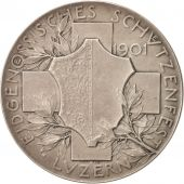 Suisse, Medal, Shooting festival at Luzern, Sports & leisure, 1901, Basel