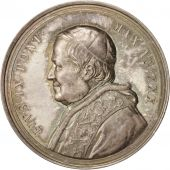 Vatican, Medal, Pius IX, Construction of the new hospice for the poor