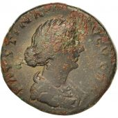Faustina II, As, 156-161, Roma, TB, Bronze, RIC:1639
