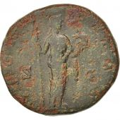 Faustina II, As, 156-161, Roma, VF(20-25), Bronze, RIC:1639