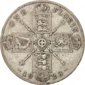 Great Britain, George V, Florin, Two Shillings, 1923, VF(20-25), Silver, KM:817a