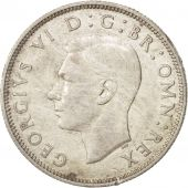 Great Britain, George VI, Florin, Two Shillings, 1943, EF(40-45), Silver, KM:855