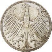 Monnaie, République fédérale allemande, 5 Mark, 1951, Munich, TTB, Argent