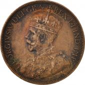 Canada, George V, Cent, 1916, Royal Canadian Mint, Ottawa, VF(30-35), Bronze