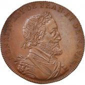 France, Medal, Henry IV, History, XIXth Century, MS(64), Copper, 33