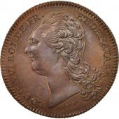 France, Medal, Louis XVI, History, XIXth Century, MS(65-70), Copper, 33