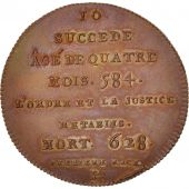 France, Medal, Clotaire II, History, SPL+, Cuivre, 32