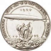 Allemagne, Medal, Weimar Republic, Commemoration the atlantic crossing