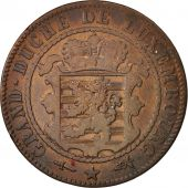Luxembourg, William III, 10 Centimes, 1870, Utrecht, TB, Bronze, KM:23.1