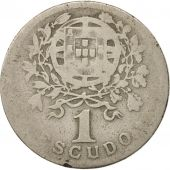 Portugal, Escudo, 1927, F(12-15), Copper-nickel, KM:578