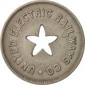 États-Unis, United Electric Railway Company, Token