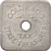 United States, Token, Colorado Sales Tax State Treasure