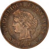 France, Cérès, Centime, 1874, Paris, EF(40-45), Bronze, KM:826.1, Gadoury:88