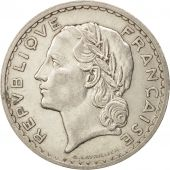 France, Lavrillier, 5 Francs, 1935, Paris, TTB+, Nickel, KM:888