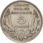 France, Bazor, 5 Francs, 1933, Paris, SUP, Nickel, KM:887, Gadoury:753