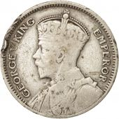 New Zealand, George V, 6 Pence, 1935, VF(20-25), Silver, KM:2