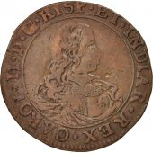 Spanish Netherlands, Token, Belgium, Charles II, Anvers, Bureau des Finances