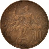 France, Dupuis, 10 Centimes, 1902, Paris, TB+, Bronze, KM:843, Gadoury:277