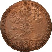 France, Token, Royal, Lorraine, Charles III, Bureau des Finances, 1594