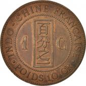 FRENCH COCHIN CHINA, Cent, 1885, Paris, TTB, Bronze, KM:3, Lecompte:15