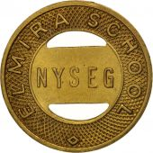 États-Unis, New-york, N.Y.S.E. & G. Corp., Elmira School, Token
