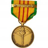 United-States, Vietnam Service Medal, Medal, 1973, Excellent Quality, Bronze