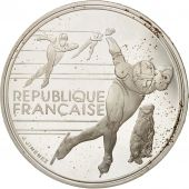 France, 100 Francs, 1990, SUP+, Argent, KM:980